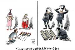 karikatur-schwarwel-silvester-polizei-boeller