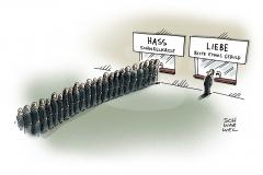 karikatur-schwarwel-liebe-hass-angst-politik