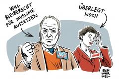 karikatur-schwarwel-asylrecht-muslime-afd-gauland-wagenknecht