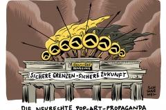 karikatur-schwarwel-identitaere-bewegung-rechtspopulismus-rechtspopulisten-populismus