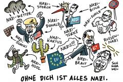 karikatur-schwarwel-nazi-nationalsozialismus-tuerkei-erdogan-eu-europaeische-union-trump-afd-putin-frauke-petry