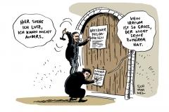 karikatur-schwarwel-thesen-luther-pegida-bachmann