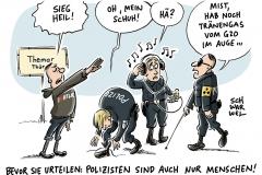 karikatur-schwarwel-themar-thueringen-rechtsrock-festival-heil-hitler-hitlergruss-polizei