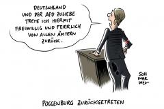 Nach Aschermittwoch-Eklat: Poggenburg legt Ämter nieder