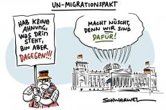 Nach hitziger Debatte und trotz berechtigter Kritik: Bundestag bekennt sich zu Migrationspakt