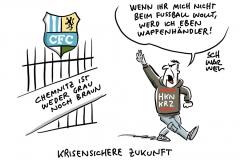 Nach Trauerbekundung für rechten Hooligan: Chemnitzer CFC stellt Strafanzeige, Sipri-Studie: Auch Deutschland steigert Waffenexporte