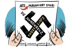 """25.000 gehackte Adressen bei Rechtsterroristen: AfD-Abgeordneter Heiner Merz mitschuldig an Versendung der """"Nordkreuz""""-Liste"""