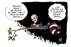 schwarwel-karikatur-russland-kampf-is-putin