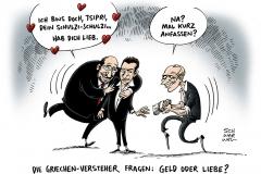 schwarwel-karikatur-griechenland-parlamentspräsident-politik-weltmacht
