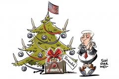 karikatur-schwarwel-donald-trump-atomwaffen-atomwaffe-weihnachten-weihnachtsbaum