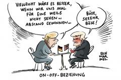 karikatur-schwarwel-merkel-trump-g7-gipfel-politik-politiker