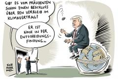 karikatur-schwarwel-donald-trump-klimavertrag-pariser-klimaschutz-abkommen