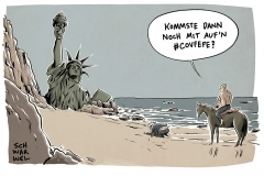 karikatur-schwarwel-trump-pariser-klimaschutzabkommen-putin-covfefe