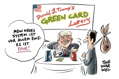 Reaktion auf Terror in New York: Trump will Green-Card-Verlosung abschaffen