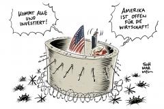 Trump in Davos: Präsident wirbt für Investitionen in Amerika