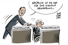 Lammert-Nachfolge-Vorschlag der CDU: Schäuble soll Bundestagspräsident werden