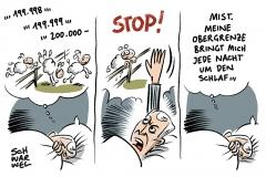 CDU-CSU-Koalition: Einigung auf Obergrenze, die nicht Obergrenze heißt
