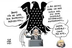 Konstituierende Sitzung: Schäuble neuer Bundestagspräsident