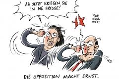 Skepsis gegenüber GroKo: SPD rutscht in Umfragen weiter ab