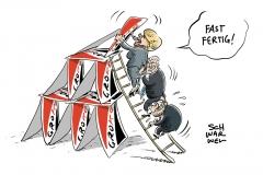Zähe GroKo-Verhandlungen: Verhandler wähnen sich auf der Zielgeraden