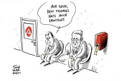 Nach GroKo-Einigung: De Maizière steht vor dem Polit-Aus