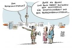Seehofer als Innenminister: GroKo will Ministerium für die Heimat, Heimatministerium