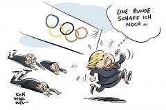 CDU: Kritik an Merkel wächst, Olympische Winterspiele in Pyeongchang eröffnet