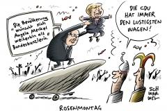 GroKo-Zwist in CDU: Altmaier weist Kritik an Ressortzuteilung und Kanzlerin zurück
