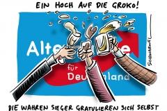 Der AfD gefällt das: GroKo-Gewinnerin ist rechte Populistenpartei