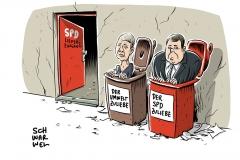 Neues SPD-Kabinett: Hendricks und Gabriel müssen gehen
