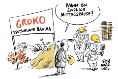 Neuauflage des GroKo-Bündnisses: Koalitionsvertrag ist unterzeichnet
