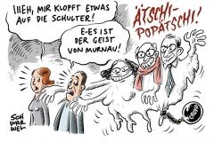 """Nach GroKo-Fraktionsklausur Schulterklopfen und Beschwörung des """"Geistes von Murnau"""""""