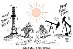 schwarwel-karikatur-showdown-opec-oelfoerderung-usa-fracking