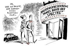 karikatur-schwarel-film-bond-007-werbung-productplacement