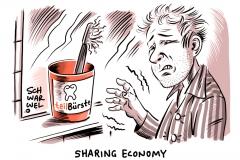 karikatur-schwarwel-sharring-economy