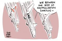 iag-billigflieger-ryanair-gewinn-absturz-flugzeug-fluglinie