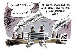 UN-Klimakonferenz 2017: Klimagipfel COP 23 tagt ab Montag in Bonn