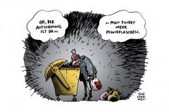 schwarwel-karikatur-armut-aufschwung-konjunktur
