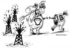schwarwel-karikatur-don-quichotte-kampf-shell