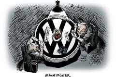 schwarwel-karikatur-vw-machtpoker-piech-winterkorn