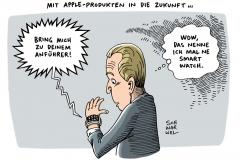 schwarwl-karikatur-applewatch-verkaufsschlager