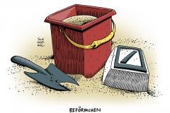 schwarwel-karikatur-deutsche-bank-krise-reform