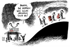 schwarwel-karikatur-lanxess-boerse-aktie-aufstieg-wirtschaft