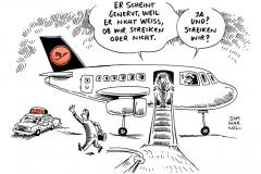 schwarwel-karikatur-streik-flugzeug-streik