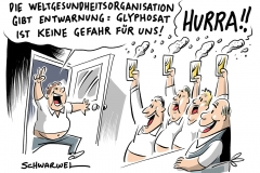 karikatur-schwarwel-glyphosat-who-weltgesundheitsorganisation