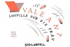 karikatur-schwarwel-valeant-lustpille-frau-pharma-arznei-pille-sex-sexualitaet