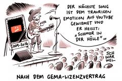 karikatur-schwarwel-youtube-gema-lizenzvertrag