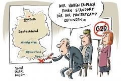 karikatur-schwarwel-g20-gipfel-protest-camp-demonstration-globalisierung-kapitalismus