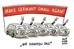 karikatur-schwarwel-auto-dieselskandal-abgasskandal-automobilindustrie-bmw-porsche-mercedes-daimler-vw-volkswagen