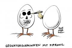 Fipronil in Deutschland: Fast 30 Millionen Eier nach Deutschland geliefert